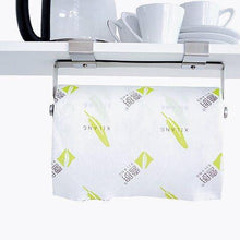 Load image into Gallery viewer, Purchase hasen under cabinet paper towel holder paper towel hanger brushed stainless steel paper towel rack kitchen paper towel holder no screws needed