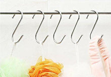 Load image into Gallery viewer, Discover the best sumdirect 10pcs scarf apparel punch cup bowl kitchen s shaped silver tone hanging hooks