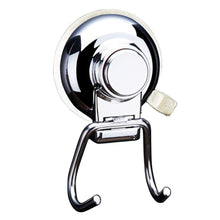 Load image into Gallery viewer, On amazon ancome powerful vacuum suction cup hooks holder strong stainless steel hooks for bathroom kitchen towel hanger storage