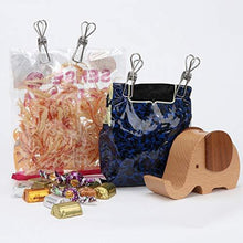 Load image into Gallery viewer, Shop for sixtack clothespin stainless steel wire clip snack food bag socks towels photos postcards for laundry kitchen backyard outdoor clothes drying