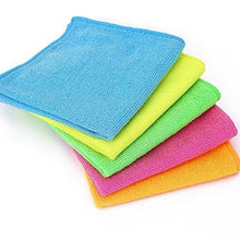 Load image into Gallery viewer, Products microfiber cleaning cloth hijina pack of 20 size 12 x12 for cleaning tasks in the kitchen bathroom dining room and more plain 5 colors x 4