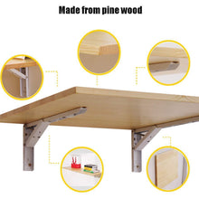 Load image into Gallery viewer, Shop here wall mount folding table desk drop leaf folding table kitchen dining table desk children table customize length100width50cm