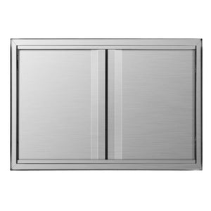 Products mornon bbq access door 304 stainless steel outdoor kitchen doors for grilling station outside cabinet barbeque grill 30 51 x 20 98inch