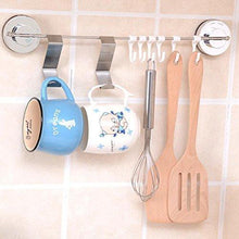 Load image into Gallery viewer, Buy now foccts 6pcs over the door hooks z shaped reversible sturdy hanging hooks saving organizer for kitchen bedroom cabinet drawer
