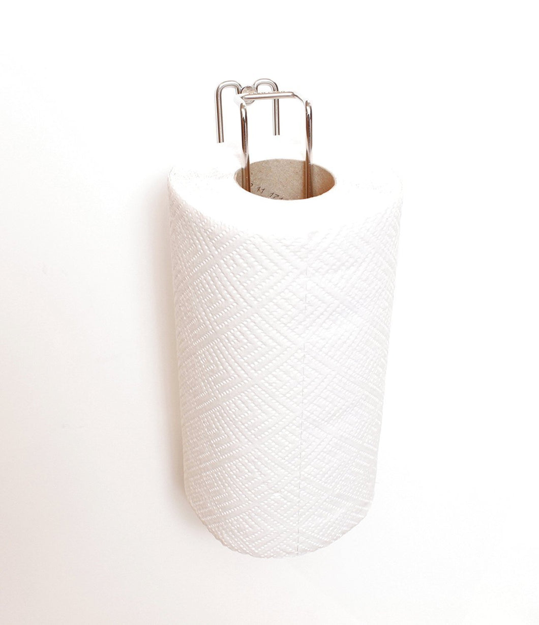 Budget friendly plew plew kitchen roll holder paper towel stand stainless steel wall mounted