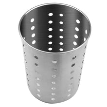 Load image into Gallery viewer, Discover the best utensil holder stainless steel kitchen cooking utensil holder for organizing and storage dishwasher safe silver 2 pack
