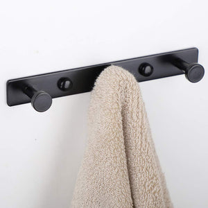 Try mellewell 2 pcs hook rail robe towel coat hooks bag hanger and bathroom kitchen accessories stainless steel black hr8021 3 2