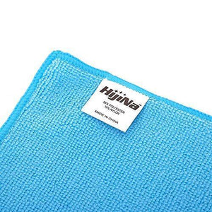 Results microfiber cleaning cloth hijina pack of 20 size 12 x12 for cleaning tasks in the kitchen bathroom dining room and more plain 5 colors x 4