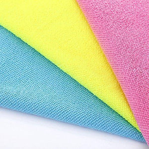 Save microfiber cleaning cloth hijina pack of 20 size 12 x12 for cleaning tasks in the kitchen bathroom dining room and more plain 5 colors x 4