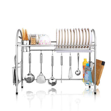 Load image into Gallery viewer, On amazon kitchen racks dish rack stainless steel drain rack sink dish rack storage rack put dish rack chopsticks rack knife rack cutting board chopsticks tube