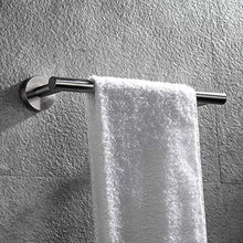 Load image into Gallery viewer, Shop hoooh bath towel bar 12 inch stainless steel towel rack for bathroom kitchen towel holder wall mount brushed finish a100l30 bn