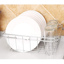 Load image into Gallery viewer, Selection jinpai stainless steel kitchen sink rack drain basket retractable fruit and vegetable dishes storage basket drain rack
