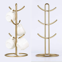 Load image into Gallery viewer, Shop for kitchen organizer set 4 piece banana hanger mug tree holder rack paper towel holder flatware caddy kitchen gifts modern collection for countertop table decor