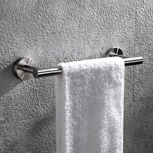 Selection hoooh bath towel bar 12 inch stainless steel towel rack for bathroom kitchen towel holder wall mount brushed finish a100l30 bn