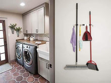 Load image into Gallery viewer, Shop for sellsense mop and broom holder wall mount 16 fastening locations kitchen garage garden tool organizer the best heavy duty storage organizer