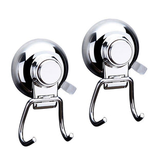 Discover the best bathroom hook towel hooks bathroom hook with suction cup hook holder removable shower kitchen hooks hanger stainless steel heavy duty wall hooks for towel robe home kitchen bathroom 2 pack