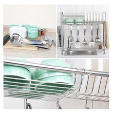 Load image into Gallery viewer, Home kitchen single sink storage rack dish rack spoon shovel chopsticks storage rack kitchen small items rack
