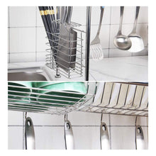 Load image into Gallery viewer, Kitchen kitchen single sink storage rack dish rack spoon shovel chopsticks storage rack kitchen small items rack