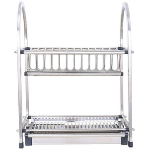 Heavy duty lpz stainless steel racks kitchen supplies tableware storage box storage rack kitchen sink drain dish rack rack lpzv size l52cmw26 4cmh46cm