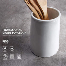 Load image into Gallery viewer, Exclusive sweese 3608 porcelain utensil holder for kitchen white