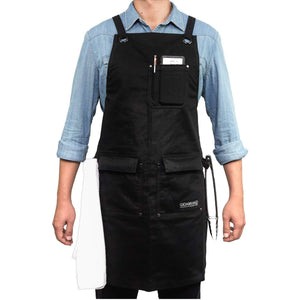 Select nice gidabrand professional grade chef kitchen apron with double towel loop 10 oz cotton for cooking bbq and grill men women design with 3 pockets quick release buckle and adjustable strap m to xxl