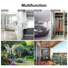 Load image into Gallery viewer, Amazon veeca skidproof mop and broom holder garden tool organizer with 5 position and 6 hooks wall mounted garage hanger for kitchen garage garden warehouse