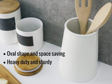 Load image into Gallery viewer, Featured sweese 3608 porcelain utensil holder for kitchen white