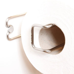 Discover plew plew kitchen roll holder paper towel stand stainless steel wall mounted