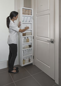 Save cabidor deluxe mirrored behind the door adjustable medicine bathroom kitchen storage cabinet