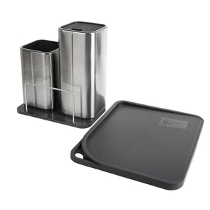 Discover the elfrhino utensils holder stainless steel kitchen tools knives holder knives block utensils container utensils crock flatware caddy cookware cutlery utensils holder multipurpose kitchen storage crock