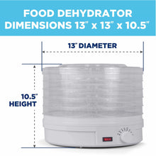 Load image into Gallery viewer, On amazon westinghouse food dehydrator beef jerky maker food preservation device food dehydration machine dried fruits and vegetables maker countertop small kitchen appliance wfd101w white