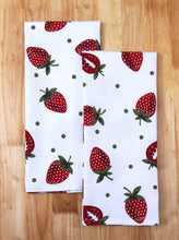 Load image into Gallery viewer, Order now casa decors set of apron oven mitt pot holder pair of kitchen towels in a unique berry blast design made of 100 cotton eco friendly safe value pack and ideal gift set kitchen linen set