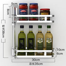 Load image into Gallery viewer, Rotating Kitchen Shelf