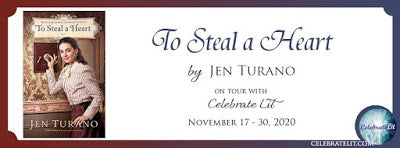 Blog Tour and Giveaway: To Steal A Heart by Jen Turano