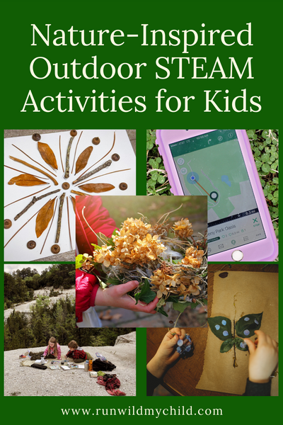Nature-Inspired Outdoor STEAM Activities for Kids