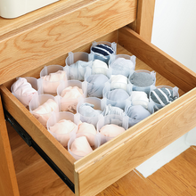 Load image into Gallery viewer, 6 PCS Drawer Divider Free Combination Underwear Socks Storage Lattice Wardrobe Compartment
