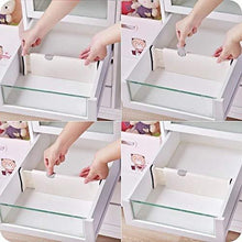 Load image into Gallery viewer, Cheap mulyeeh 2 4 pcs expandable drawer dividers adjustable dresser drawer divider separators organize silverware and utensils wardrobe storage organization