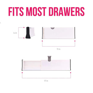 Selection 8 drawer organizer and dividers organize silverware and utensils in home kitchen divider for clothes in bedroom dresser designed to not snag underwear and bra fabrics bathroom storage organizers