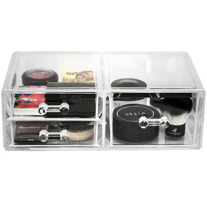 Results sorbus acrylic cosmetics makeup and jewelry storage case display sets interlocking drawers to create your own specially designed makeup counter stackable and interchangeable