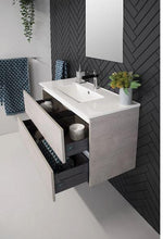 Load image into Gallery viewer, ADP Glacier Ceramic All-Drawer Ensuite Wall Hung Vanity