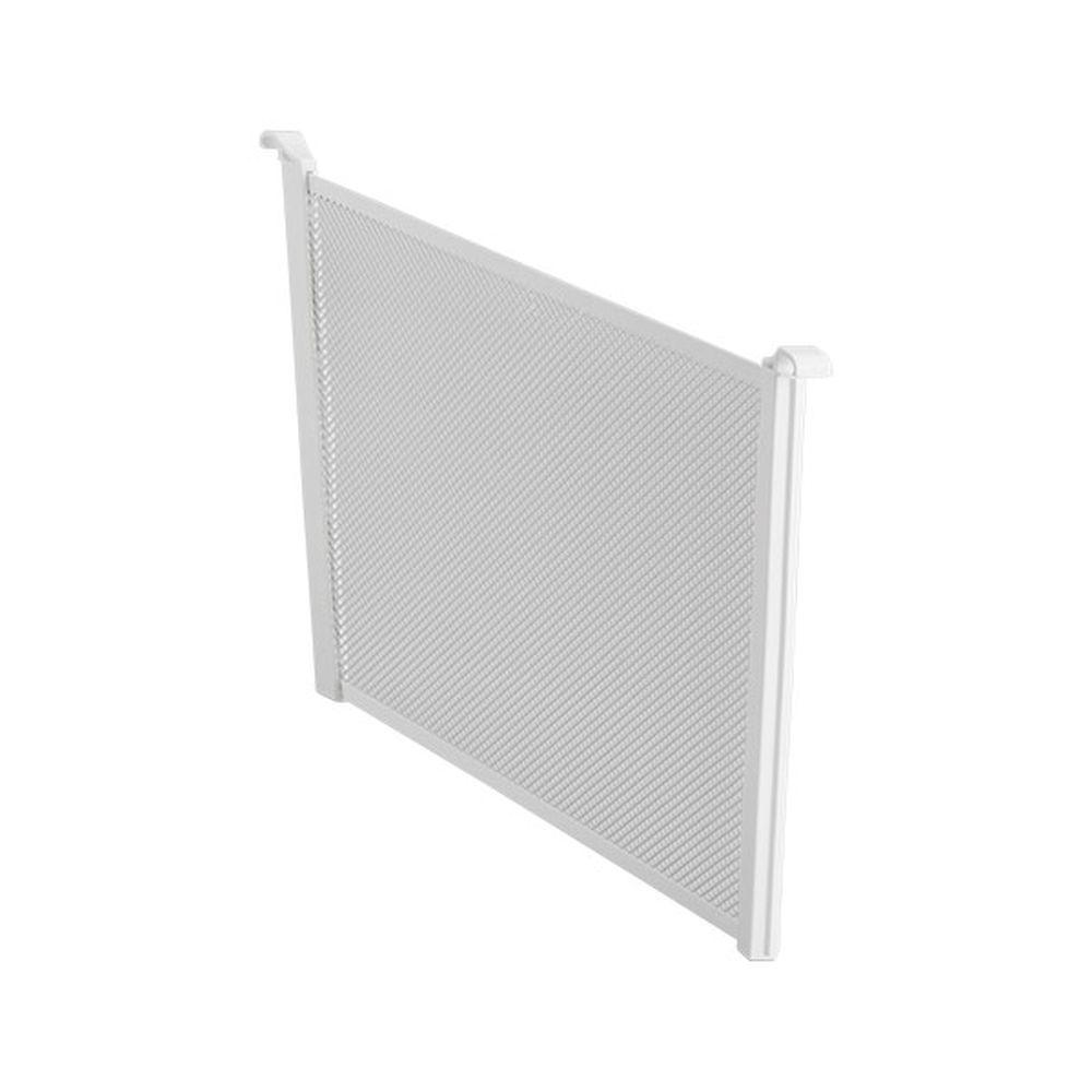 Elfa Mesh Drawer Dividers 180mm White