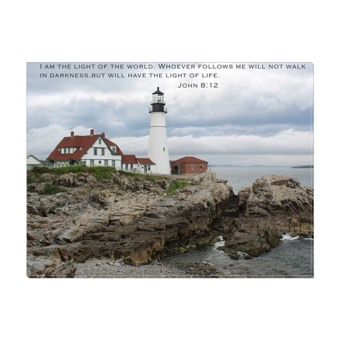 Cape Elizabeth Lighthouse Wrapped Canvas