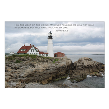 Load image into Gallery viewer, Cape Elizabeth Lighthouse Wrapped Canvas