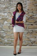 Load image into Gallery viewer, #MultiFaceJacket blue + pink + purple + woolly