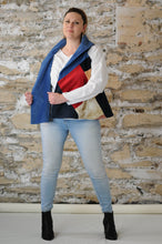 Load image into Gallery viewer, #MultiFaceJacket   blue + corduroy + beige + red + pink + plush