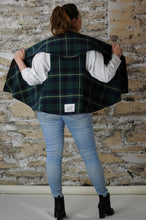 Load image into Gallery viewer, #MultiFaceJacket tartan + green + gold + red wine