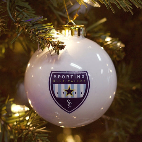 Sporting Blue Valley Holiday Ornament