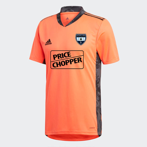 Sporting Blue Valley Short Sleeve Goalie Jersey