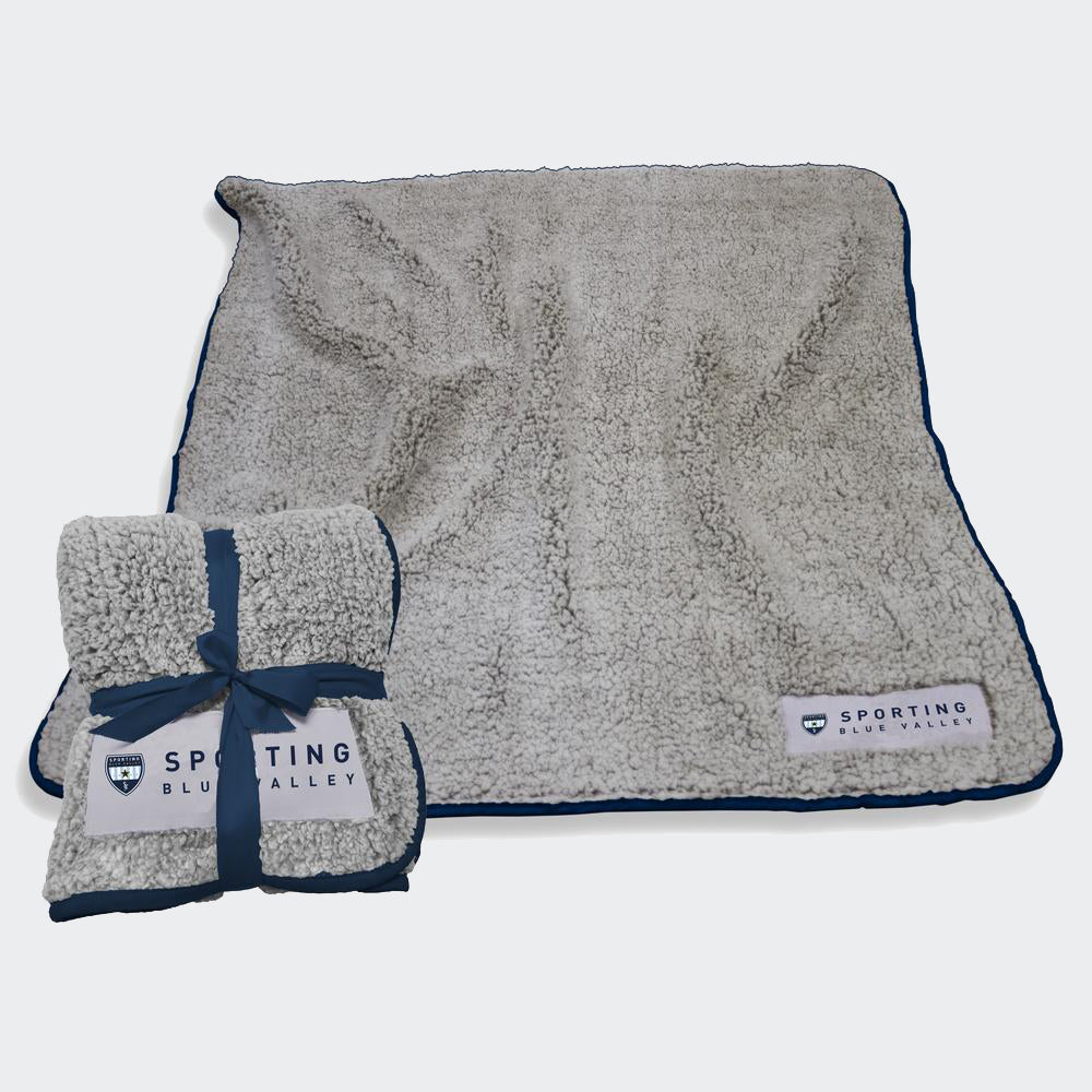 Sporting Blue Valley Plush Blanket