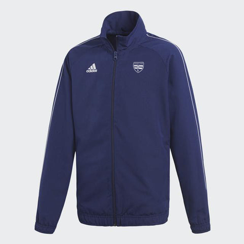 Sporting Missouri Valley: adidas Youth Core 18 Pre Jacket